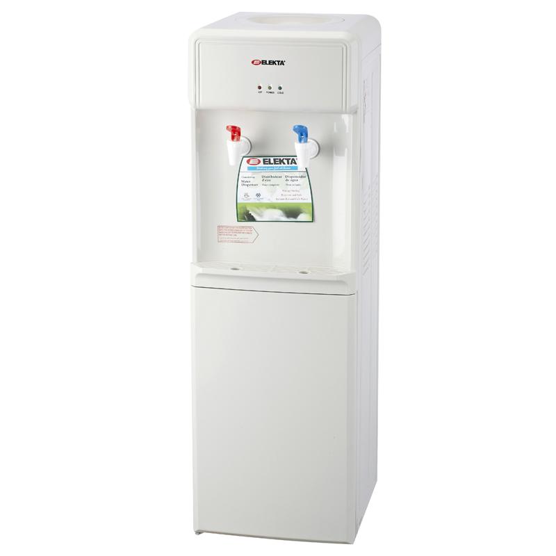 Elekta Hot U0026 Cold Water Dispenser With Storage Cabinet
